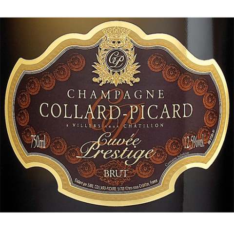 Etiket Cuvée Prestige Collard Picard