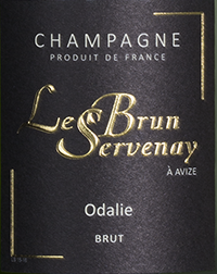Etikette Champagne Lebrun Servenay - Odalie_web